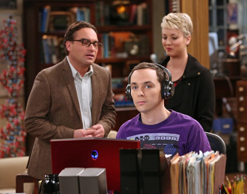 """Johnny Galecki, Jim Parsons and Kaley Cuoco are committed to the CBS hit """"The Big Bang Theory"""" through the 2016-17 season."""