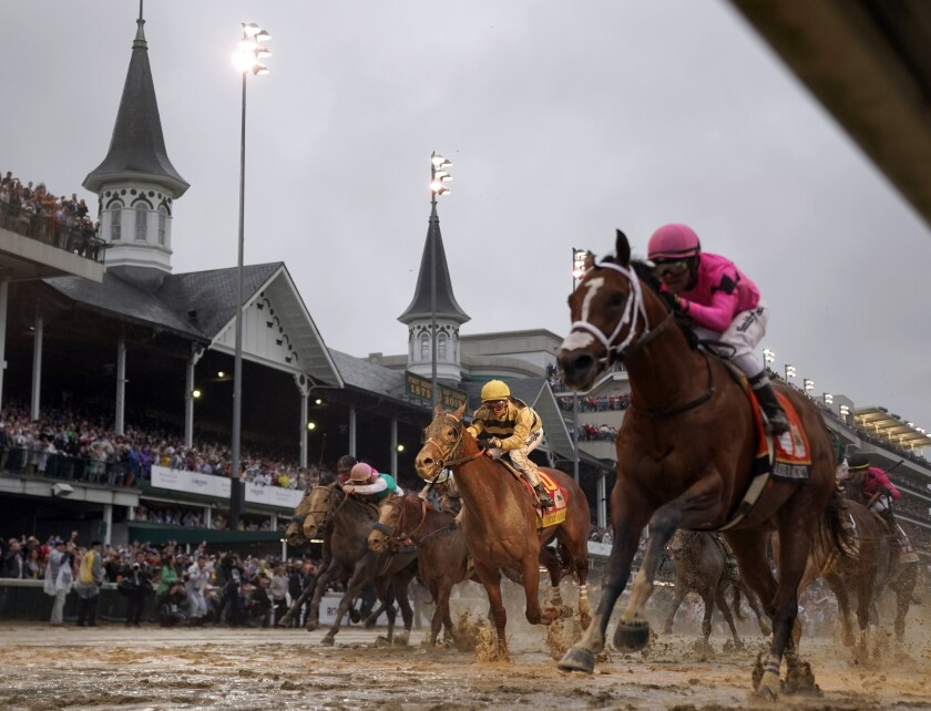 The coronavirus outbreak caused Churchill Downs to postpone the Kentucky Derby until Sept. 5. The decision is likely to create a domino affect on the sport's racing calendar.