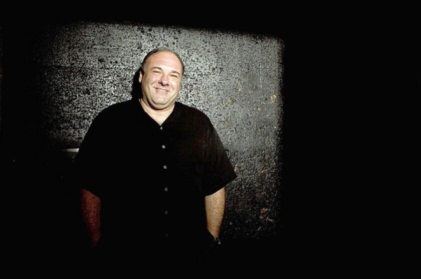 "Actor James Gandolfini, shown in 2012, was a movie and Broadway actor who shot to stardom in ""The Sopranos."" He died while vacationing in Rome."