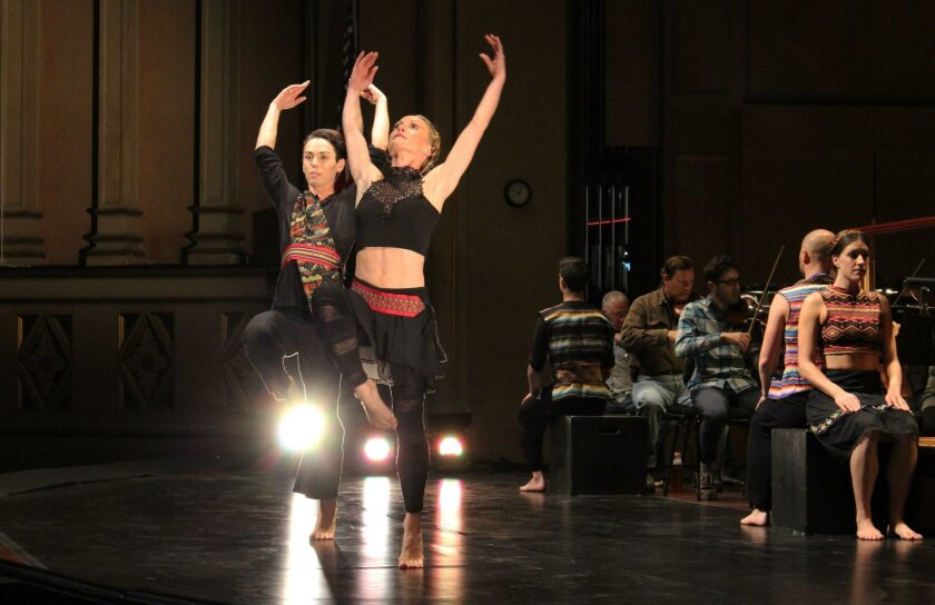 Members of the Malashock Dance Company perform in Music in Motion: Dance and 'The Firebird'.