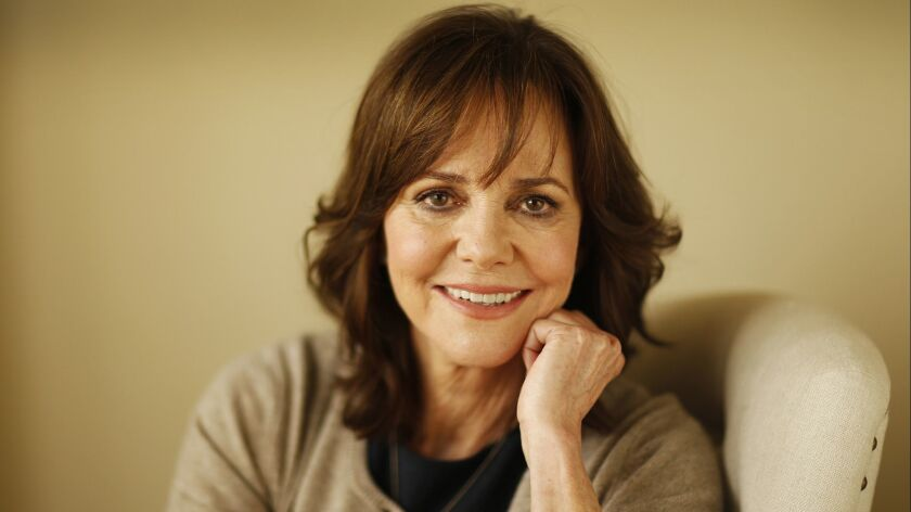 LOS ANGELES, CA - MARCH 02, 2016 - Two time Oscar winning actress Sally Field photographer for her