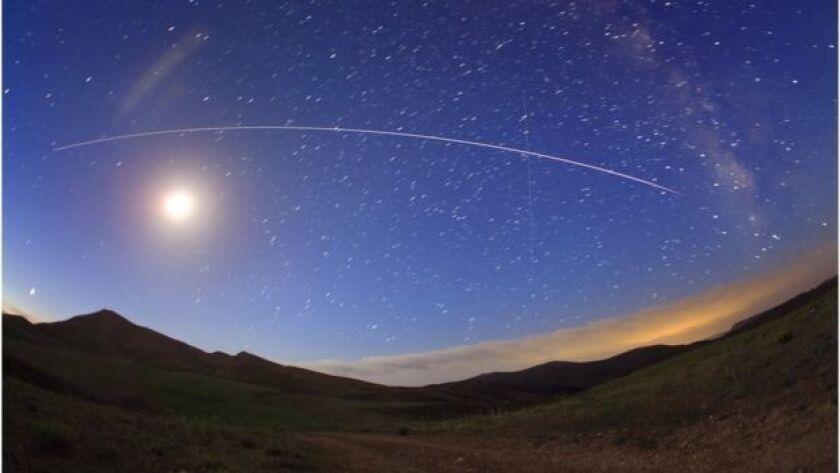 """El """"casi satélite"""" no puede ser visto desde la Tierra."""