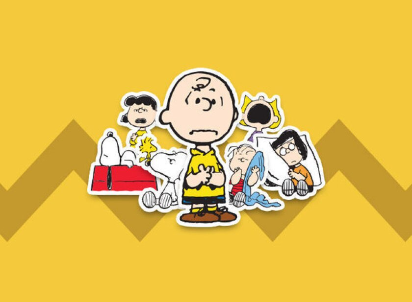 "Charlie Brown and the whole ""Peanuts"" gang are now available as stickers on the social network Path."