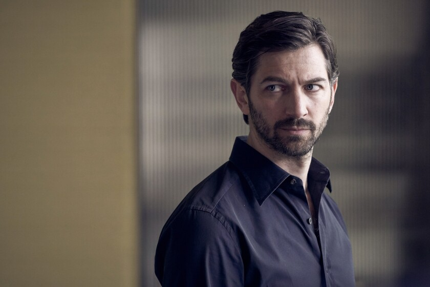 """Michiel Huisman is a contender for supporting actor in a comedy for the comedy-mystery-drama-thriller """"The Flight Attendant."""""""