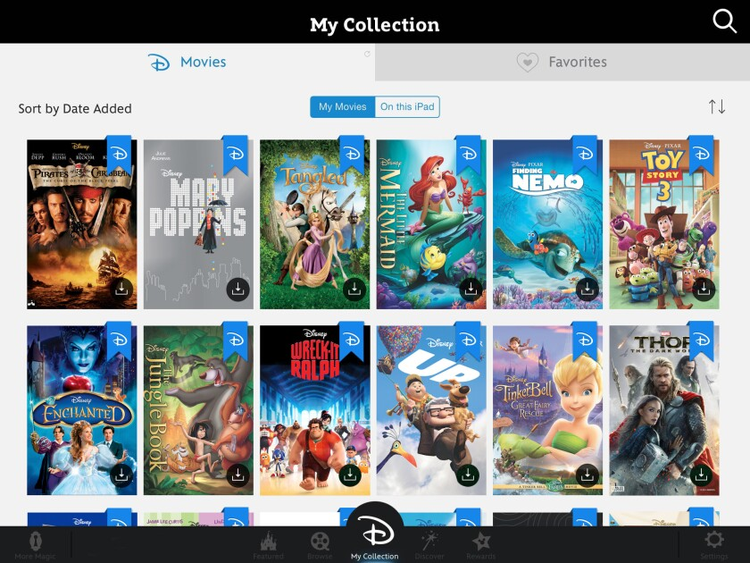 Disney Movies Anywhere allows users to manage and view Disney movies they've purchased.