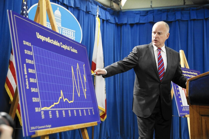 Gov. Jerry Brown unveils his proposed budget