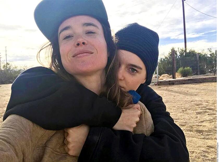 La actriz canadiense, de 30 años, compartió mediante su cuenta de Instagram que se casó con su novia, Emma Portner.