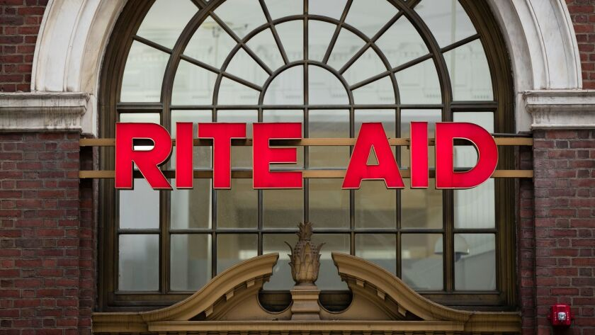 FILE - This Oct. 21, 2016 file photo shows a Rite Aid location in Philadelphia. The privately held o