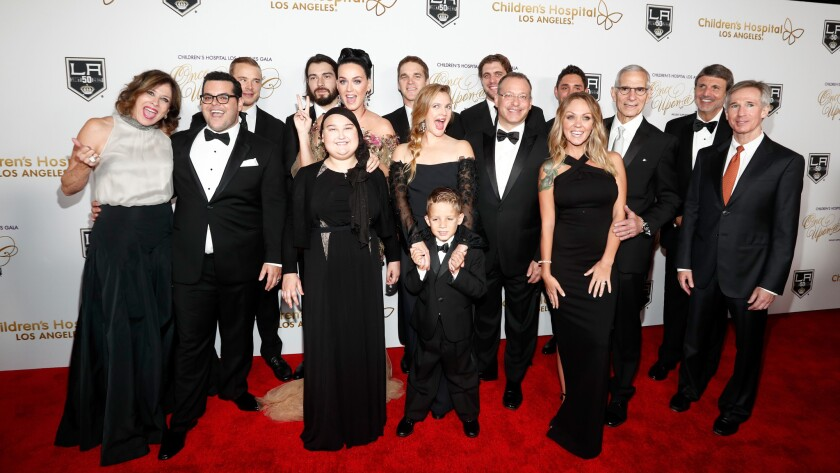 Some of the guests and attendees of the Children's Hospital Los Angeles gala, including Katy Perry, Drew Barrymore and Josh Gad.