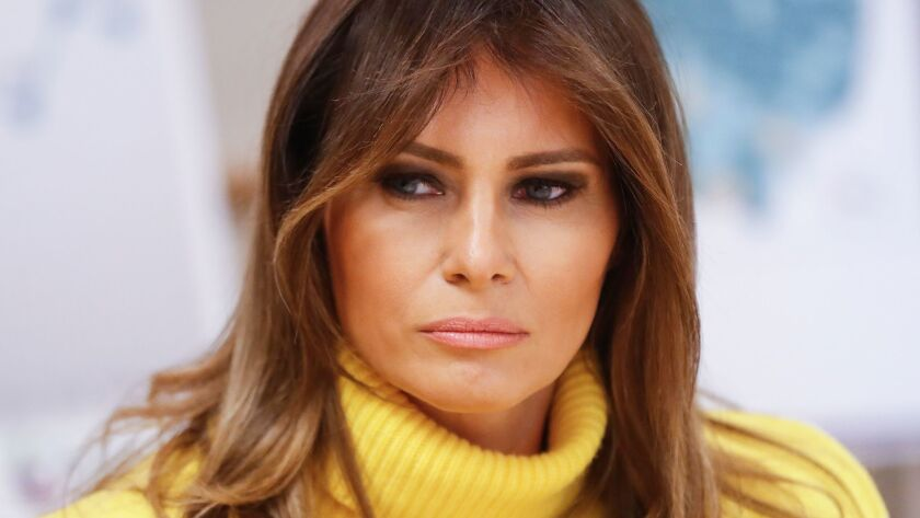 Column: How much more humiliation can Melania Trump take?