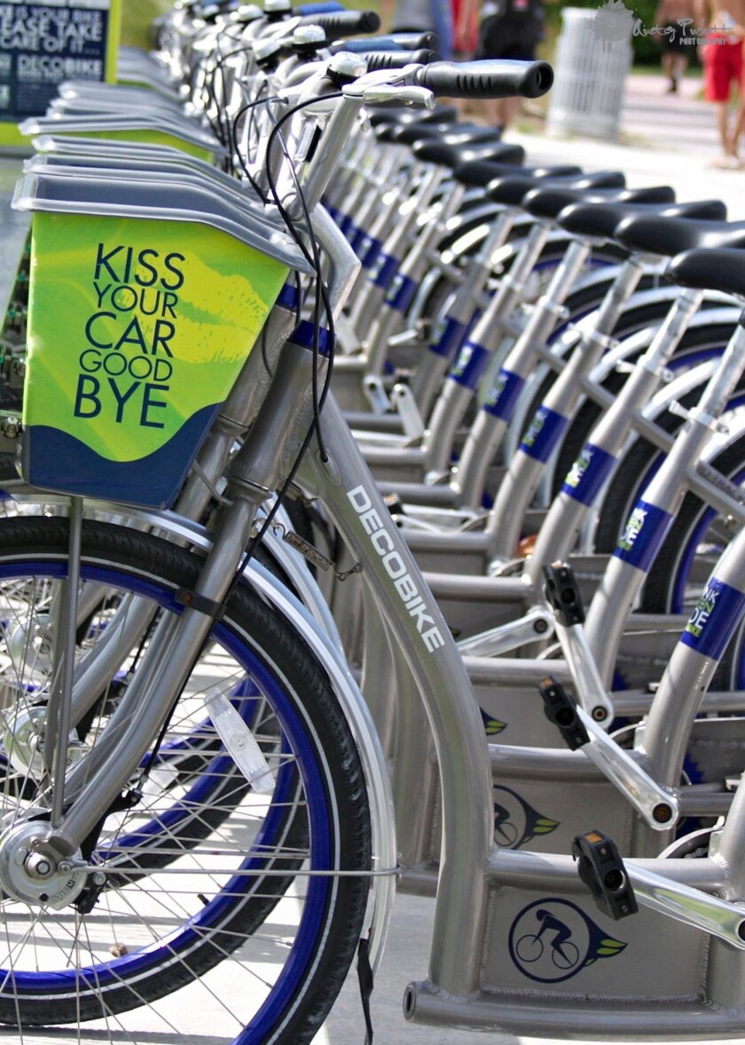 DecoBike had proposed 14 bike-share kiosks for La Jolla, including eight in the Village, but has since withdrew the proposal.