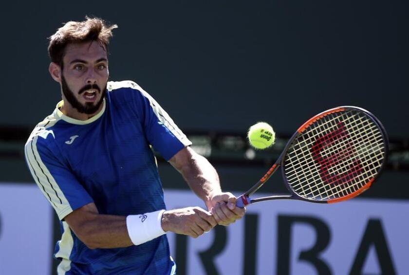 En la imagen, el tenista español Marcel Granollers. EFE/Archivo