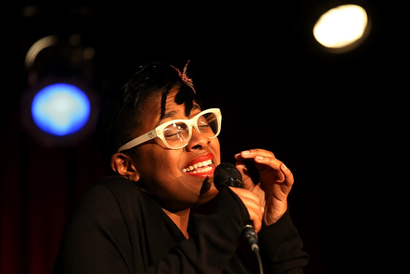 Multiple Grammy Award-winning jazz singer and songwriter Cecile McLorin Salvant will perform Aug. 7 at La Jolla's new Conrad Prebys Performing Arts Center.