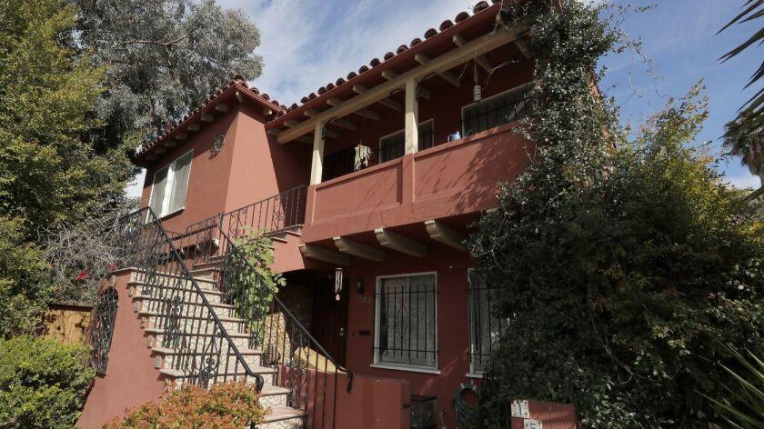 Una casa en el barrio de Silver Lake de Los Ángeles.
