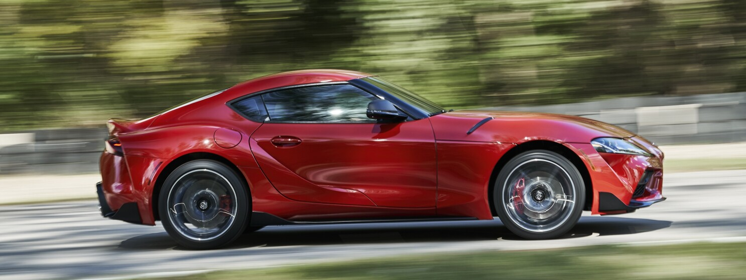 2020 toyota supra gr all hips haunches and attitude the san diego union tribune 2020 toyota supra gr all hips