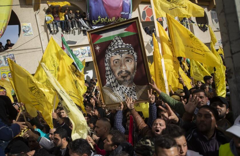 Palestinians Fatah Anniversary
