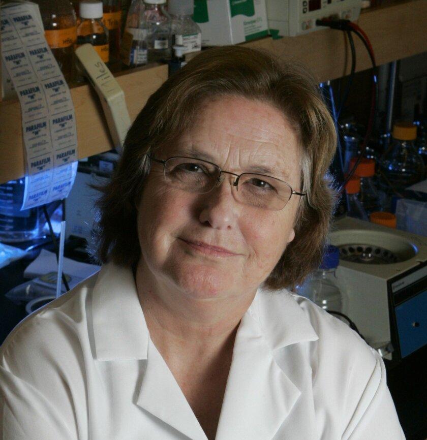 Jeanne Loring, director of the Center for Regenerative Medicine at The Scripps Research Institute in La Jolla.