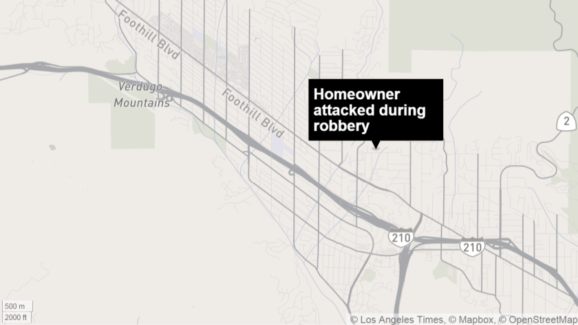 A woman returned home Thursday, Aug. 20 at around 9:10 p.m. to find two men reportedly burglarizing her home in the 4800 block of Castle Road. One of the men kicked her, knocking her to the ground. The two men fled the scene in a white hatchback car.