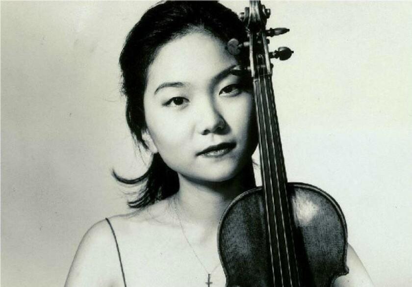 Violinist Min-Jin Kym.