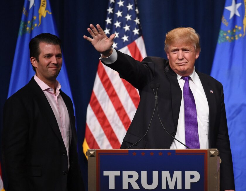 The role that the President played in his son's initial response to the New York Times over his June 2016 meeting with Russian nationals at Trump Tower has come under scrutiny.