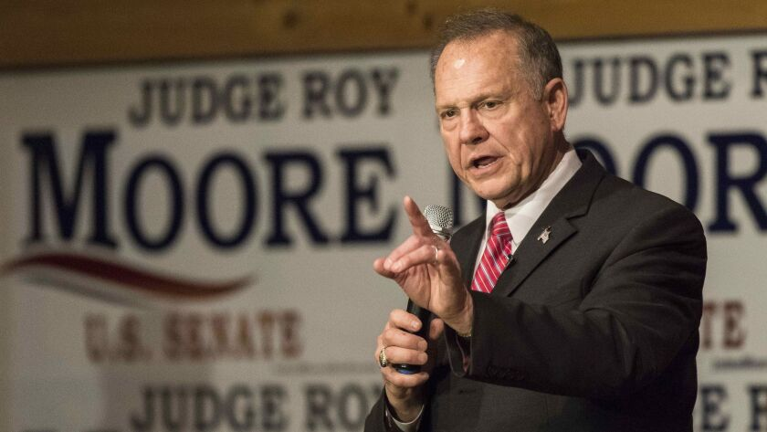 Some Republicans say that even if Roy Moore holds Alabama's Senate seat, it will be a setback for the GOP.