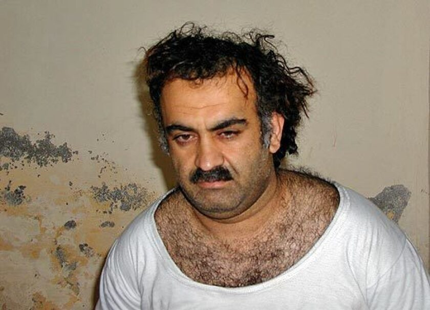 Self-proclaimed Sept. 11 mastermind Khalid Shaikh Mohammed and four fellow defendants are charged with conspiring to murder nearly 3,000 people.