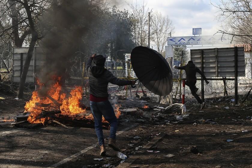 APTOPIX Turkey Greece Migrants