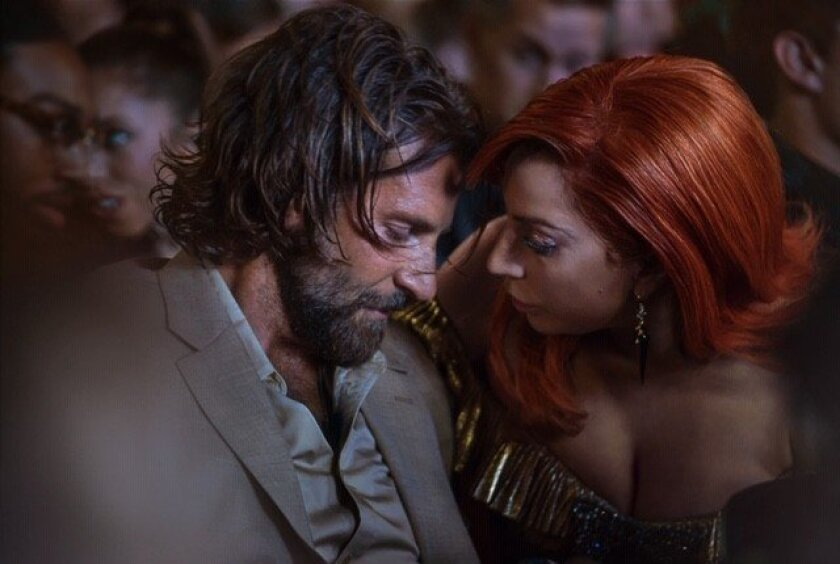 """***DO NOT USE FOR ENVELOPE KEY SCENES RUNNING 2/12/2019--BRADLEY COOPER, LADY GAGA in """"A Star is Bor"""