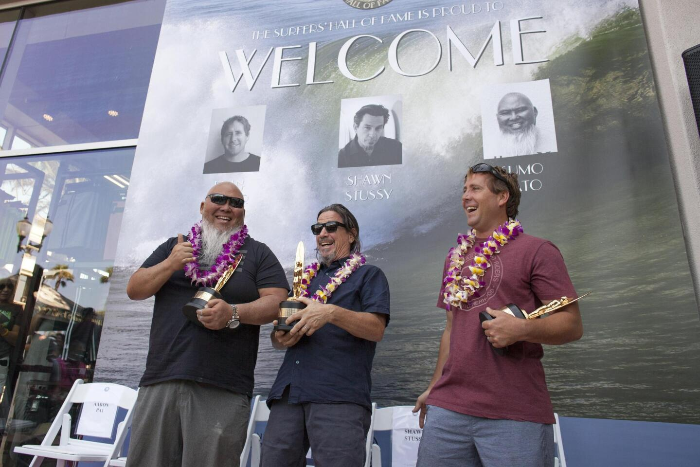 Photo Gallery: Trio inducted into Surfers' Hall of Fame