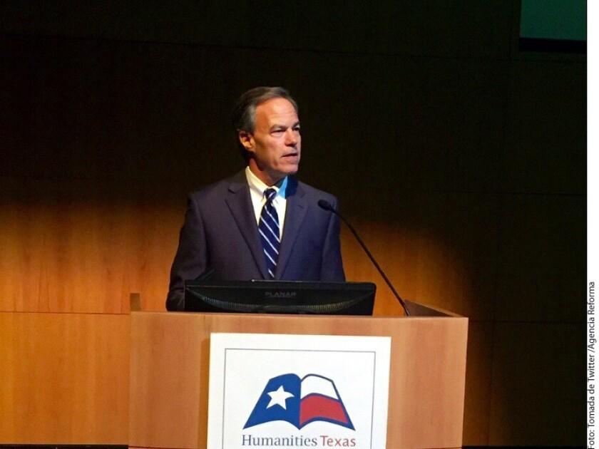 El Presidente de la Cámara Baja de Texas, Joe Straus, visitó esta semana la Ciudad de México, informó la Secretaría de Relaciones Exteriores (SRE).