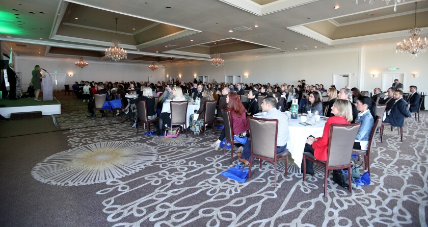 Attendees at State of the Schools Breakfast