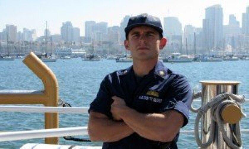 Boatswain's Mate 2nd Class Troy Dostart  Photo/Jeanne McKinney