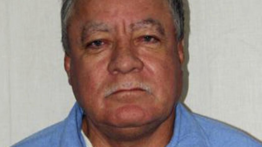 Former death row inmate Vicente Benavides Figueroa.
