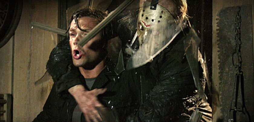 Jason grabs a victim