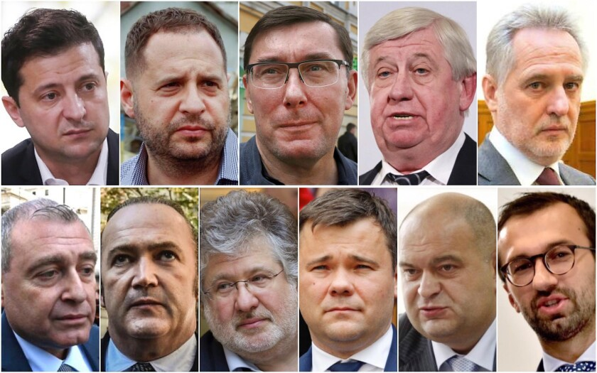 Main Ukraine figures