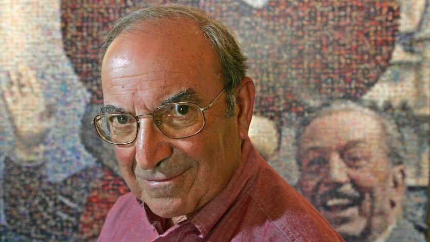 Marty Sklar, then-principal creative executive of Walt Disney Imagineering, at Disneyland Resort in 2005.