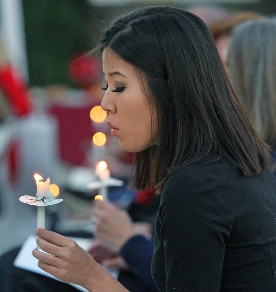 Photo Gallery: Ascencia Homeless Persons' Memorial Service in the Museum Plaza at Forest Lawn Memorial Park
