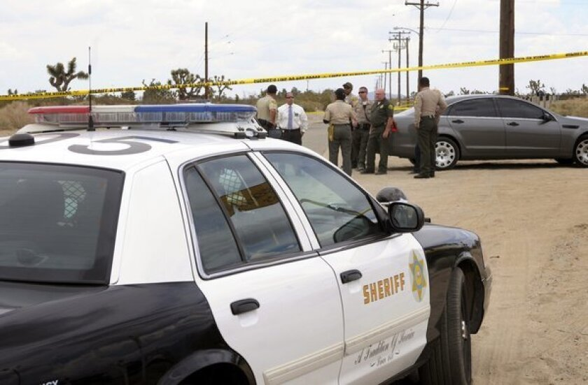 Authorities in an area where a 63-year-old woam was fatally attacked Thursday morning.