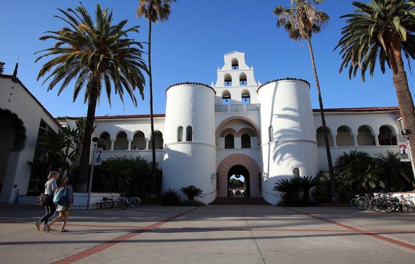 San Diego State University reports 32 new coronavirus cases.