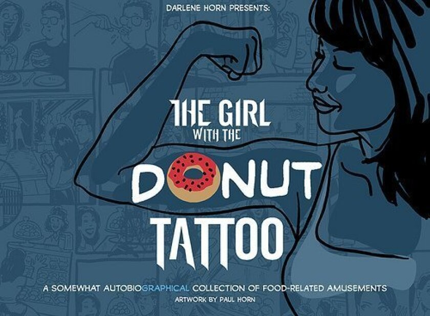 The cover of Darlene Horn's debut book. which will be displayed at this year's Comic-Con.
