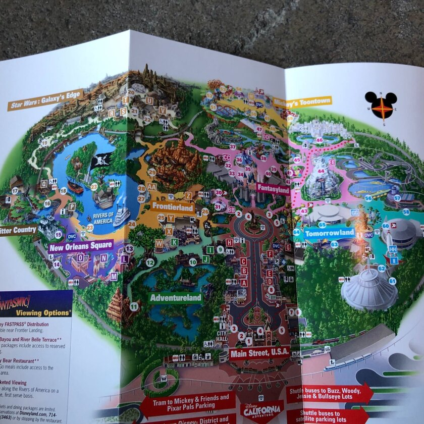 Here's the new map of Disneyland with Star Wars: Galaxy's ... on disneyland minecraft download, disney world map download, disneyland california,