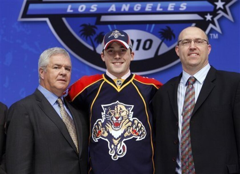 Oilers Take Hall No 1 In Nhl Draft Seguin To Bs The San Diego Union Tribune