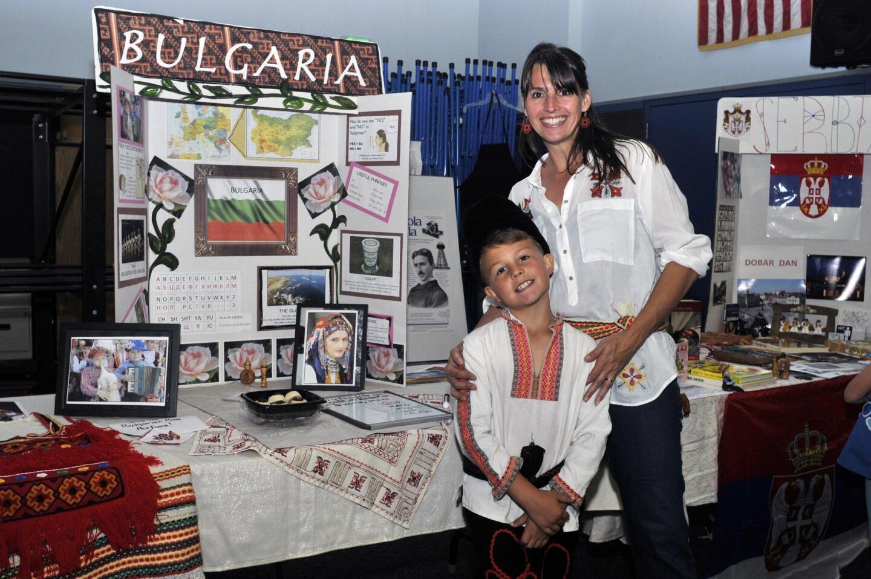 Max and Natalie Mladenov represent Bulgaria