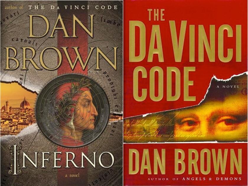 Dan Brown's book cover reveal: It's 'Da Vinci Code'-y!