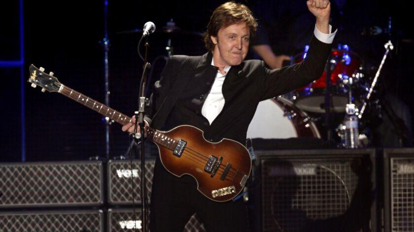 Paul McCartney as Coachella headliner in 2009.