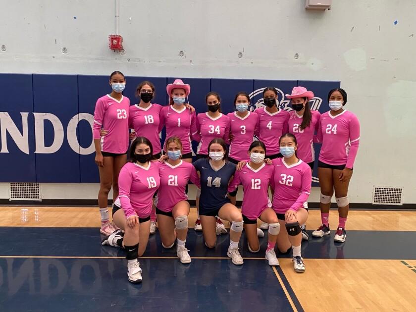 Venice High girls' volleyball team