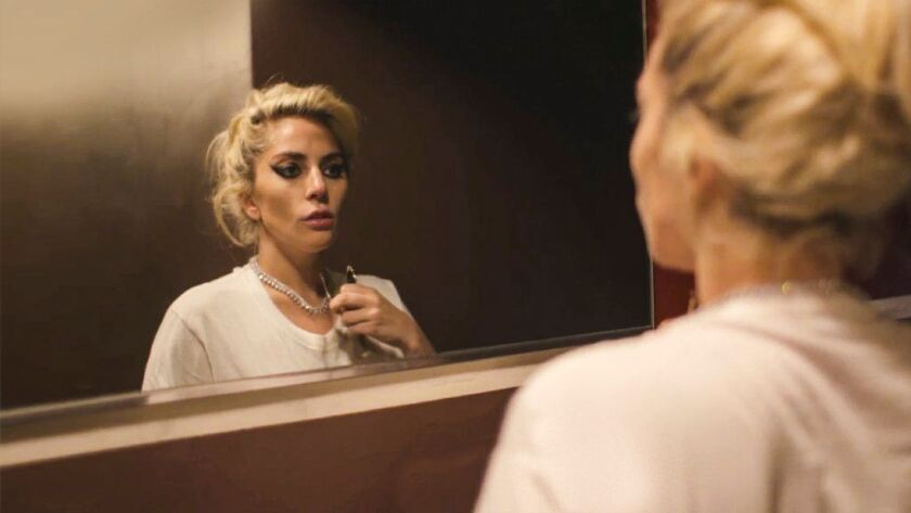 "Lady Gaga in a scene from the Netflix documentary ""Gaga: Five Foot Two."""