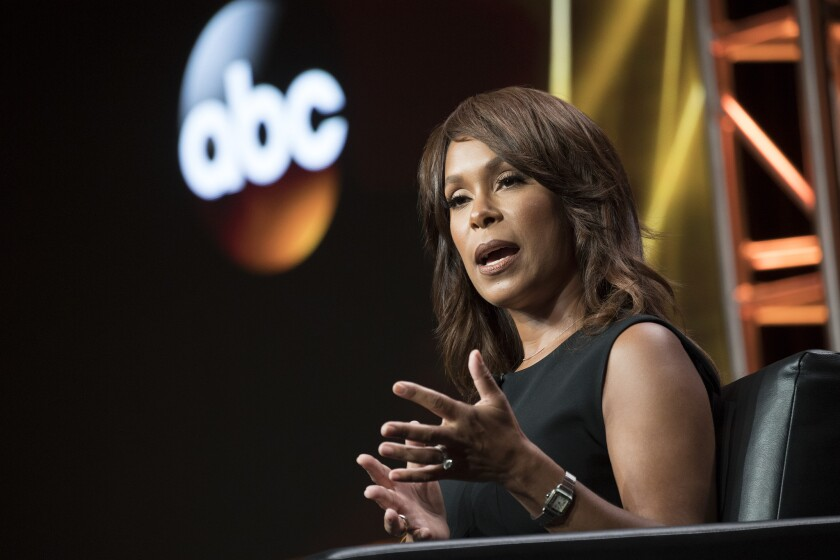 ABC Entertainment President Channing Dungey at the Television Critics Assn. press tour in Beverly Hills