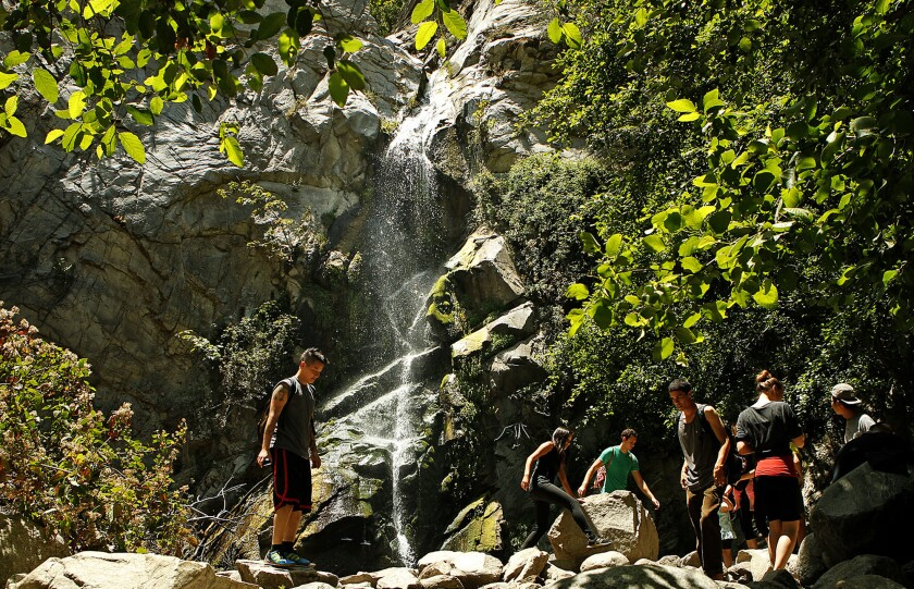 Chantry Flat to Sturtevant Falls in the San Gabriels