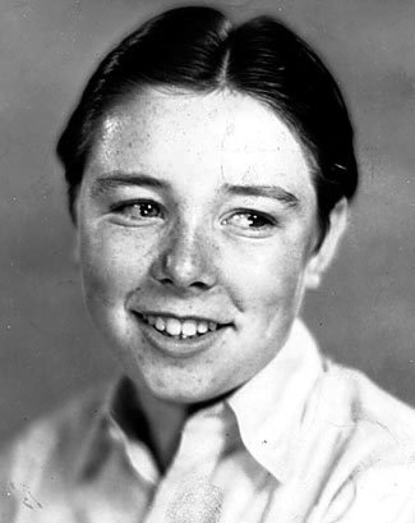 File photo of child actor Frank Coghlan Jr., also known as Junior Coghlan.